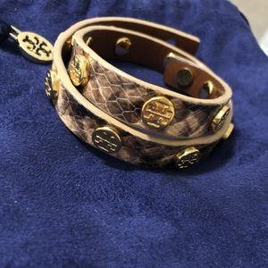 Tory Burch wrap bracelet snake